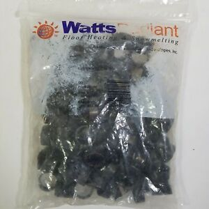 Watts Radiant 1 2 Inch Pex Crimp Rings Copper Pccr3x Lot Of 100 New Sealed