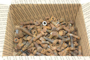 Gibson Model D Tractor Miscellaneous Hardware Lot Part Out Nuts Bolts 20 Lbs