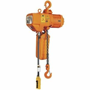 Prowinch Pwr3 3 Ton Electric Chain Hoist 6000 Lbs Capacity 30ft Lifting Height