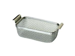 Wire Mesh Basket Stainless Steel 9 X 5 X 3 1 8 For Ultrasonic Cleaner