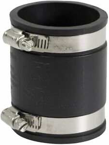 Pvc Flexible Coupling With Stainless Steel Clamps