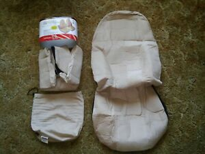 New Pinnacle Products Universal Bucket Seat Covers Corduroy Tan Or Gray