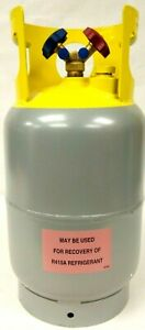 Refrigerant Recovery Cylinder 4lzh2 30 Lb Recovery Tank Size 722 5 Cu In Vol