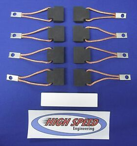 Usa High Performance Downhill Brush Set Fits Lincoln Welder Sae 300 He All Codes