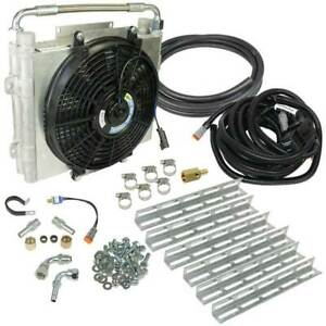 Bd Power Xtrude Double Stacked Auxiliary Trans Cooler Kit For 94 16 47 48 68re