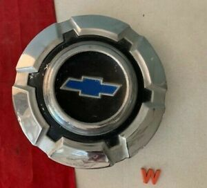 W 1 Rare 1967 1972 Chevy 3 4 1 Ton Pick Up Truck Dog Dish Hubcap Blue
