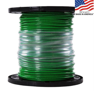 Southwire 20497401 Building Wire thhn 6 Awg green 500ft