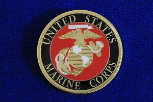 Usmc Marines Grille Badge License Plate Topper Accessory Trunk Bumper Badge