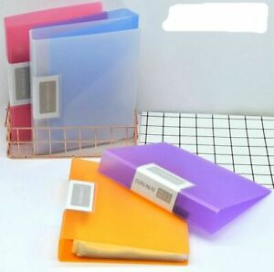 Office 2 Ring Binder A5 Folder Document Organizer A5 Paper File For Documents
