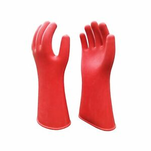 Electrical Insulated Lineman Rubber Gloves Electrician High Voltage Hand Shap