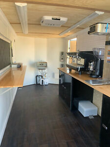 7x14 Coffee Trailer Brand New Includes All Brand New Equipment Logo Ready