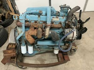 Dt 466 Engine With Transmission And Pto
