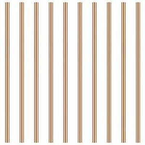 3mm Copper Round Rod Favordrory 10pcs Copper Round Rods Lathe Bar Stock 3mm I