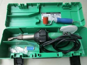 Leister Triac St 141 228 Plastic Welder With Nozzle Works Great Looks Great