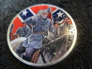 2021 Silver Eagle Colorized quot;General Leequot; all new 6 6 2021 PoP 15 $74.95