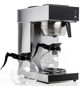 Sybo Rug2001 Commercial Grade Pour Over Coffee Maker And Brewer With 2 Glass
