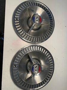 1964 Ford Galaxie 500 Spinner Hubcaps 2
