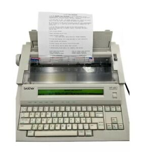Brother Wp 680 Word Processor Typewriter Excellent