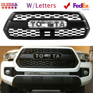 Oem Grille For Toyota Tacoma Trd Pro 2016 2017 2018 2019 2020 W Letters Fedex