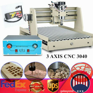400w 3 Axis Cnc 3040t Router Engraver Milling Cutting Machine W Controller Us