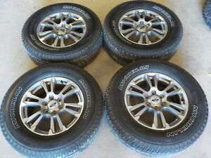 2018 Ford F150 18x7 5 Factory Wheels 6x135 And Michelin Primacy 275 65r18 Tires