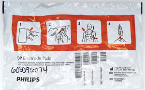 Adult Philips Heartstart Aed Pads For Df27 Fr2 Mrx Xl M3861a Forerunner B