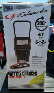 Car Battery Charger Jump Starter Portable 200 Amp Heavy Duty Compact 1000 New