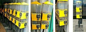 7 seven Candy Vending Machines U turn 8 Canister 8 Way Local Pick Up Only