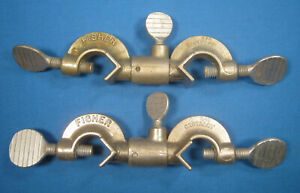 Fisher Castaloy Clamp Swivel Holders X2 Early Model Free Shipping Ee