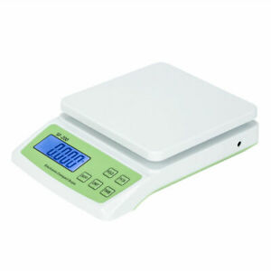 22lb X 0 1oz Postal Scale Digital Lcd Shipping Mail Packages Weigh 10kg 0 5g