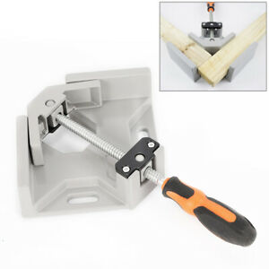 90 Corner Clamp Right Angle Woodworking Vice Wood Metal Welding Tool Usa