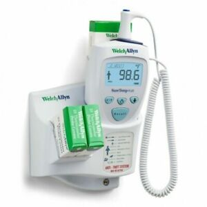 New Welch Allyn Suretemp Plus Model 692 Thermometer With Wall Holder 01692 200