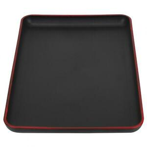 Japanese Style Rectangular Plastic Tray Food Serving Tray For Restaurant Home