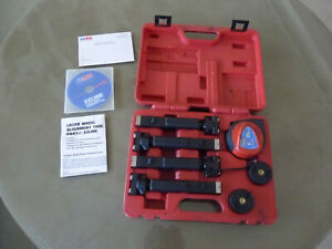 E Z Red Ezline Wheel Laser Alignment Tool Used Once Ready For Your Project