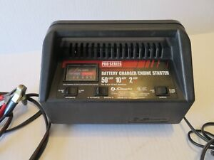 Pro Series 50 10 2 Battery Charger Engine Starter Fully Automatic Manual