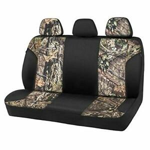 Mossy Oak Low Back Camo Full Size Bench Seat Covers Universial Fit Fit Most R