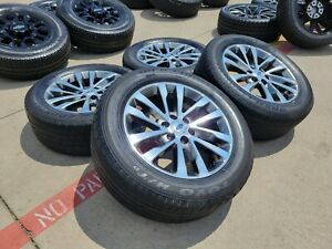 20 Ford F 150 Expedition Polished Grey Oem Rims Wheels Tires 2018 2020 10144