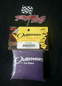 Outerwears Pre Filter 10 1235 Air Filter Cover In Purple
