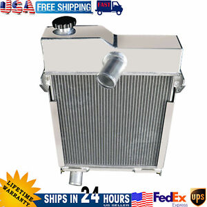 3 Row Radiator For John Deere Tractor M Mt 40 320 Am1771t Am639t Non pressurized