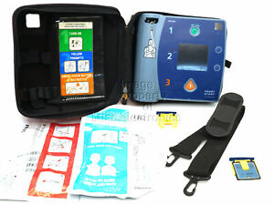 Philips Heartstart Fr2 Aed M3861a 2023 Battery Pads Carry Case Data Card F