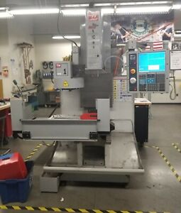 2009 Haas Toolroom Mill Tm 1 Low Hours From High School w tool Changer 7 5hp 4k