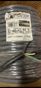 60 Ft 10 3 Soow Soo So Black Rubber 600v Flexible Extension Cord Cable 90 c