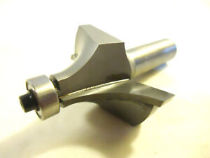 Router Bit Carbide Tipped 3 4 Radius Round over Bit With Guide Bearing