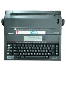 Brother Ax 25 Electronic Typewriter Tested Works