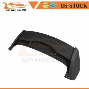Fits 2012 2018 Ford Focus Hatchback Matte Black Wing Spoiler Roof Factory Style