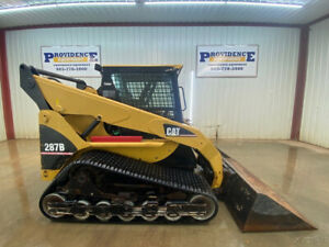 2004 Cat 287b Orops Skid Steer With Single Speed