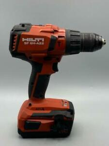 Hilti Sf 6h a22 Hammer Drill Driver With B22 4 0 Battery No Charger