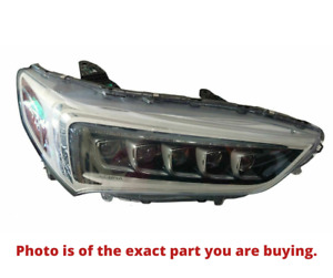 2018 2020 Acura Tlx Right Passenger Side Bright Chrome Headlight Assembly Oem