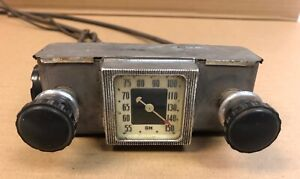 1930 S Original Oem Accessory Gm Chevrolet Radio Head With Cables Knobs