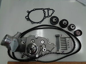 Porsche 944 924s Water Pump Kit With Brand New Belts And Rollers Read Listing